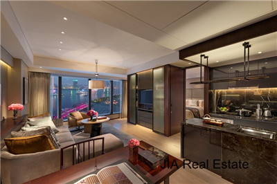 Mandarin Oriental 1br Serviced Apt In Pudong Lujiazui Nr L2 All Included Rent Rmb28 000